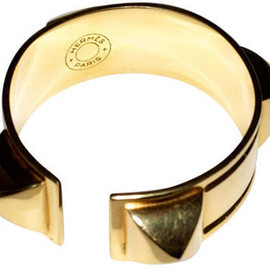HERMES - Gold Plated Medor Cuff