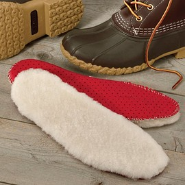 L.L.Bean - shearling insoles