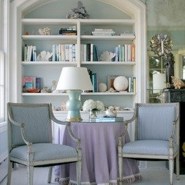 french arched library