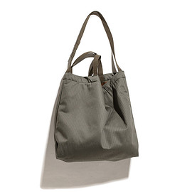 ENGINEERED GARMENTS - Carry All Tote-Cotton HB Twill-Olive