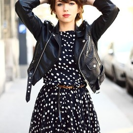 leather & dot