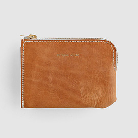 "raregem - Leather Wallet ""Brilleaux"" - Natural"