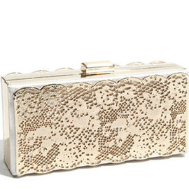Lace Effect clutch