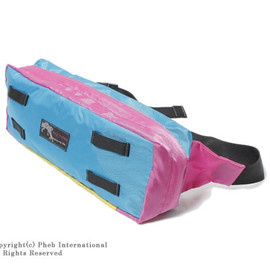 WILD THINGS - FANNY PACK(Turquoise / yellow )