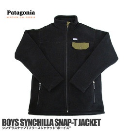 Patagonia - BOYS SYNCHILLA SNAP-T JACKET