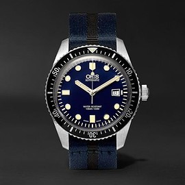 Oris - Divers Sixty-Five Stainless Steel Watch