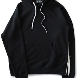 bal - Side Zip Pullover (black)
