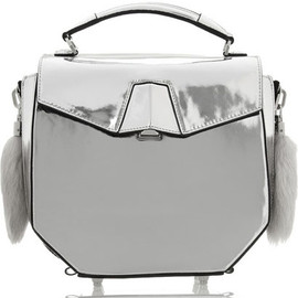 Alexander Wang - Alexander Wang Devere Metallic Leather Shoulder Bag