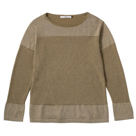 efiLevol - .efiLevol / Boat Neck Knit Long Sleeve