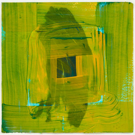 Howard Hodgkin - Heat (2012, 74×74, ed.35)