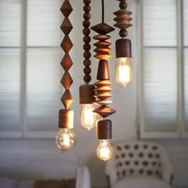 Bright Beads Pendant Lights by Marz Designs