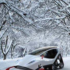 Michal Bonikowski, Futurologo - SNOW VEHICLE
