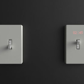 Harc Lee - TIME SWITCH Wall clock