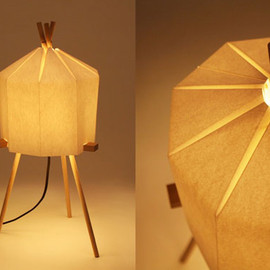 Milk Design - Paper Lamp