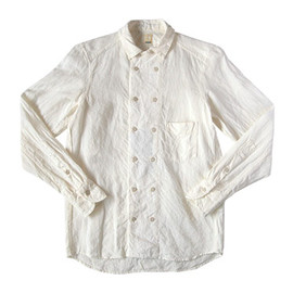 TATAMIZE - DOUBLE BRESTED LINEN SHIRTS