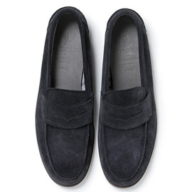 nonnative - DWELLER LOAFER - COW SUEDE WITH GORE-TEX® 2L by REGAL