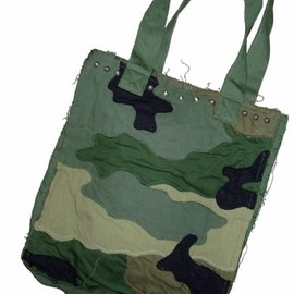 JUNYA WATANABE COMME des GARCONS - Patchwork Camouflage Tote Bag