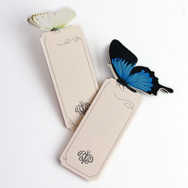 D-BROS - HOTEL BUTTERFLY / BOOKMARKER
