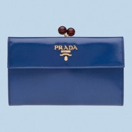 Prada - 2012/SS【円高還元 Prada】WALLET Cornflower BLUE 1