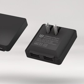 "URBANUTILITY - 2PORT USB ADAPTOR ""2ポートUSBアダプター"" UCAC-SQ1"