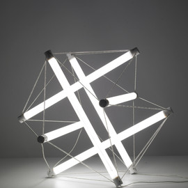 Ingo MAURER & Peter HAMBURGER, 1970 - Light Structure