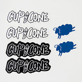 cup and cone - Logo Sticker Pack
