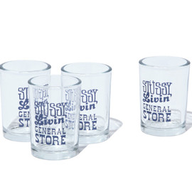 STUSSY Livin' GENERAL STORE - Universal Tumbler Set Of 4