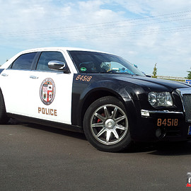 Chrysler - 300 POLICE CAR