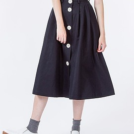 SOFIE D'HOORE - BUTTON DOWN FLARE SKIRT