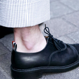 THOM BROWNE - straight tip oxford shoes 2013SS collection in London