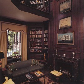 Study in a Historic Beacon Hill Brownstone