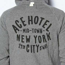 ACE HOTEL × wings+horns × BEAMS - Full Zip Hood