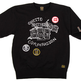 BBP, Ghetto Brothers - Ghetto Brothers x BBP Ghetto Brothers Corp SS Sweatshirt