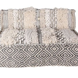 a. depeche - block multi sofa center MAC white