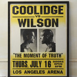 Pulp Fiction - COOLIDGE vs WILSON Poster