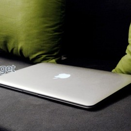 Vintage Apple Logo Aluminum Back Panel w/ The New Light Mod
