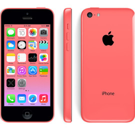 Apple - iPhone 5c 16GB (Pink)
