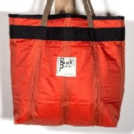 BUCK PRODUCTS - STOCK TOTE / Large Orange