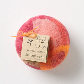 Fiat Luxe Felted Soap