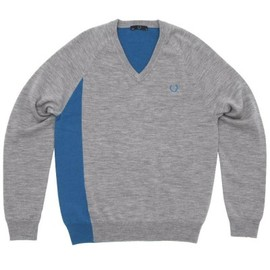 Fred Perry - Seam Shift V-Neck Sweater