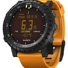suunto - Core Black Orange