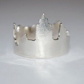 * - Silver We Built This City Ring
