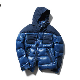 SOPHNET. - FSF HOODED DOWN BLOUSON