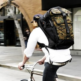 Black Camo Series Vandal with Cobra Buckles