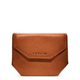 COACH - bleecker legacy leather coin case
