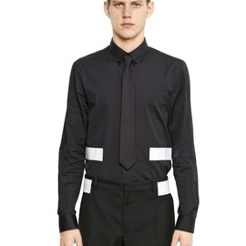 GIVENCHY - SS2015 BANDS ON COTTON POPLIN SHIRT