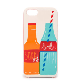 kate spade NEW YORK - RESIN IPHONE CASES SODA BOTTLES 5