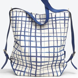 Carven - Bag blue print