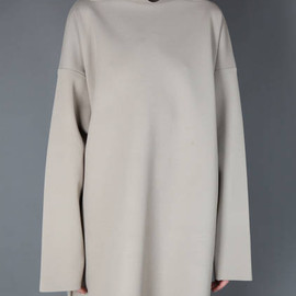 Maison Martin Margiela - oversized sweater with highcollar