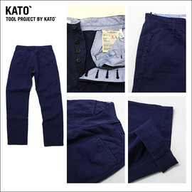 KATO' DENIM - AAA CHINO TROUSERS PANTS